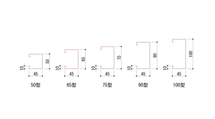 LGSの寸法