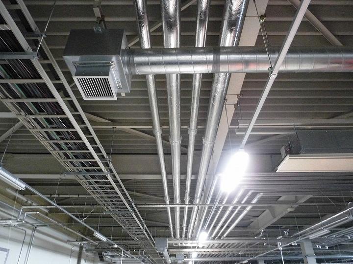 天井内配管のイメージ
