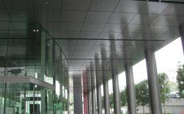 天井アルミパネルの一例