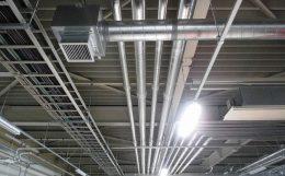 天井設備配管
