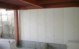S造のALC壁イメージ