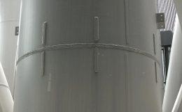 鉄骨柱の溶接処理